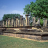 Polonnaruwa -- King's Council Chamber: Ruins of the Resthouse Group. This is the King's Council Chamber
