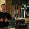 Guinness Storehouse, Dublin, Ireland: A friendly Guinness Storehouse bartender.
