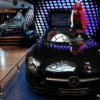 Mercedes Benz showroom on the Champs-Elysees in Paris.: Absolutely beautifully crafted machines