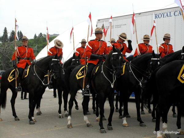 Calgary Stampede RCMP Musical Ride 002