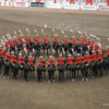 Calgary Stampede RCMP Musical Ride: Among the many interesting formations you'll see