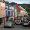 Colorful street, one of just a few streets in the small town of Kenmare: Perfect place to spend a half day, and great base from which to drive the Ring of Kerry