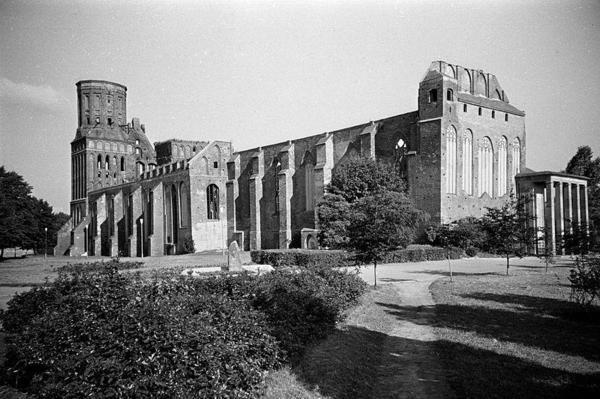 Kaliningrad Cathedral ruins, 1988