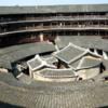 Earth building in Chengqi.: Photo courtesy Wikipedia.  Taken by Bolobolo