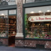 Chocolate shop in les Galeries St. Hubert, Brussels.