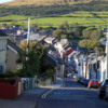 Pretty Dingle, set on the slope of a hill