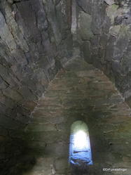 Interior of the Gallarus Oratory, Dingle Peninsula, Ireland