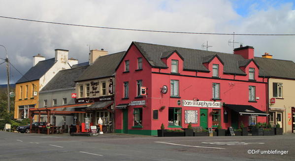 The colorful town of Sneem, Ring of Kerry, Ireland