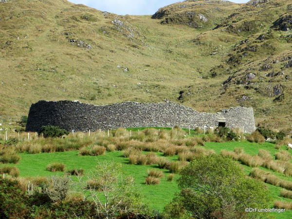 Beautiful and historic Staigue Fort, just off the Ring of Kerry