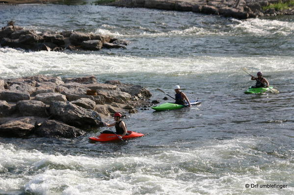 Missoula -- kayaking the Clark Fork River