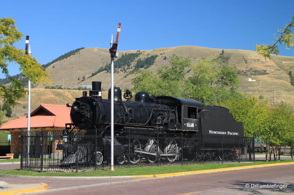 Missoula -- Northern Pacific Railroad Depot