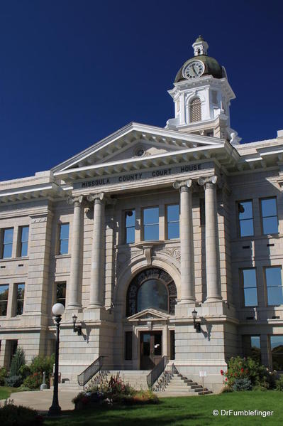 Missoula -- County Court House
