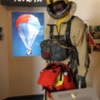 Missoula -- Smokejumper Visitor Center: They carry 80 lbs of gear when jumping from a plane
