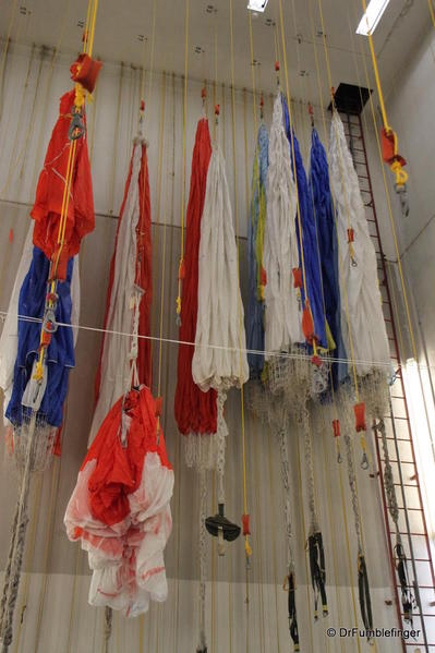 Parachute loft, Smokejumper Visitor Center