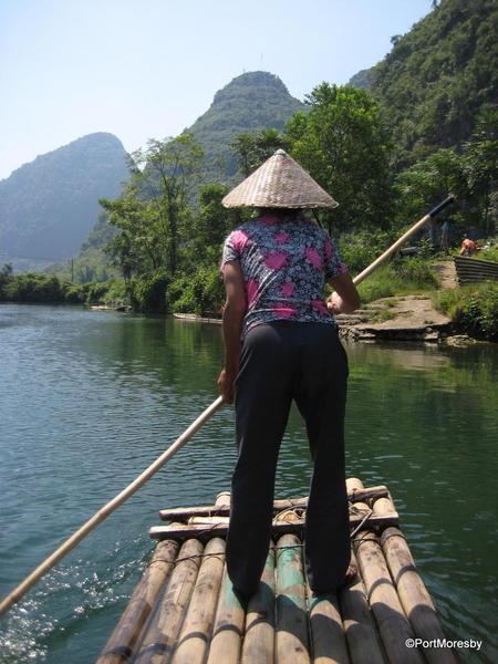 Crossing the Yulong.