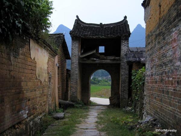 Jiuxian Ancient Village.