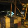 Port of Jeddah.: Jeddah, Saudi Arabia port at night.