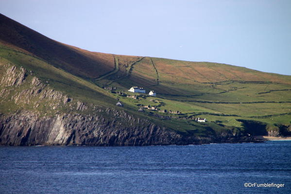 Dingle Peninsula. Great Blasket Island