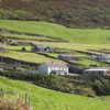 Dingle Peninsula.  Farms in the most western part of the peninsula