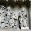 Choir Screen, Mary, child and the Magi, Chartres Cathedral, France