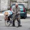 Man with Bike, Chartres, France #1