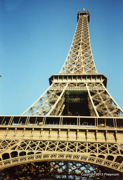 Eiffel Tower, Viewed from its Base