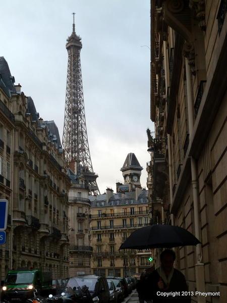 Eiffel Tower, one of many street views