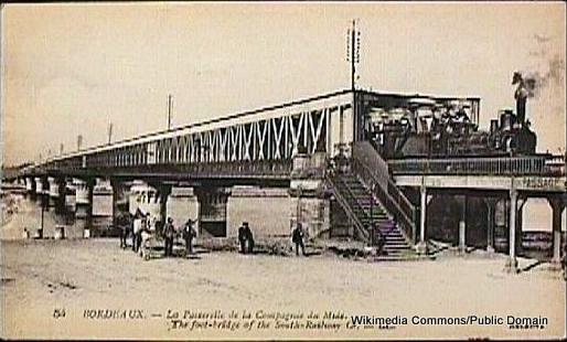 1-Bordeaux Rail Bridge
