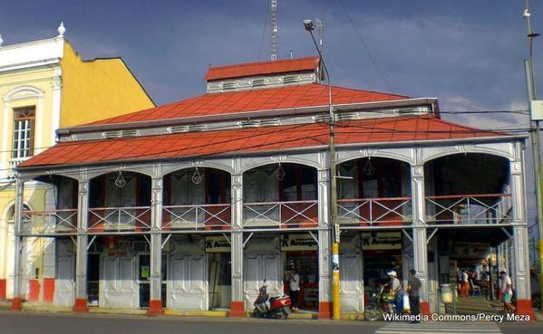 1-Casa de Fierro in Iquitos Peru