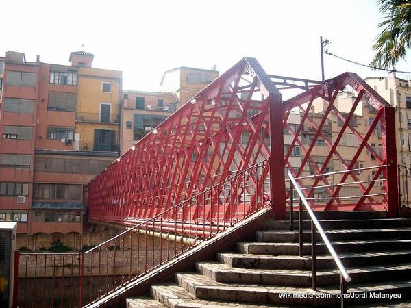 1-Pont de Ferro in Girona Spain