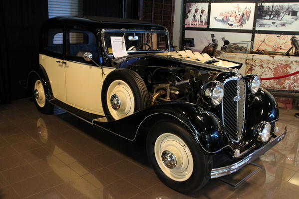 Tampa Bay Automobile Museum 2013 108 1934 Stower V8 Greif