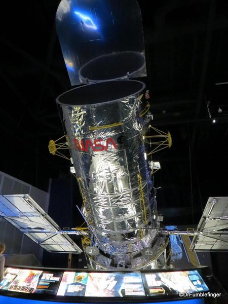 Kennedy Space Center, Florida. Atlantis Shuttle Display