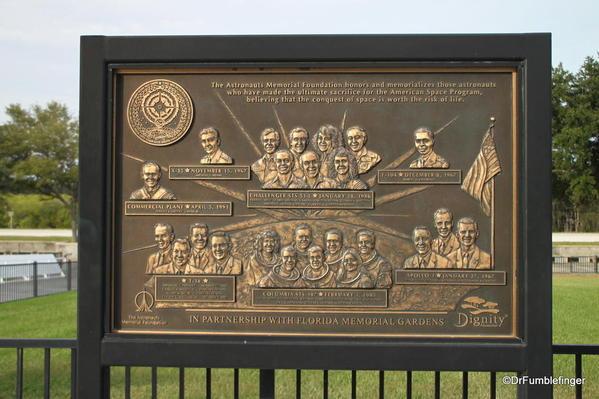 Kennedy Space Center, Florida. Astronaut Memorial