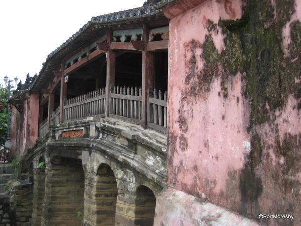 Historic Japanese Covered Bridge, Hoi An.