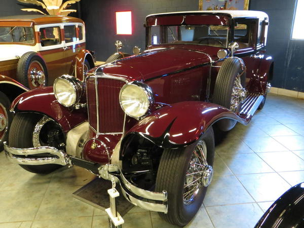 Tampa Bay Automobile Museum 2013 144 USA 1929 Cord L29