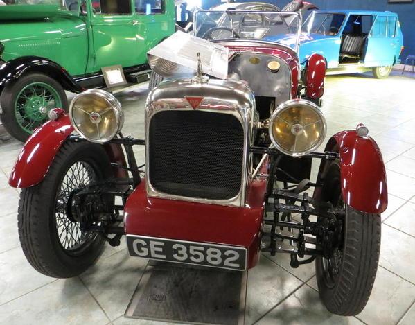 Tampa Bay Automobile Museum 2013 165 UK 1928 Alvis Model F D 12 75