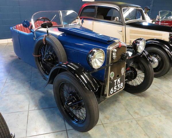 Tampa Bay Automobile Museum 2013 174 UK 1935 BSA Three Wheeler