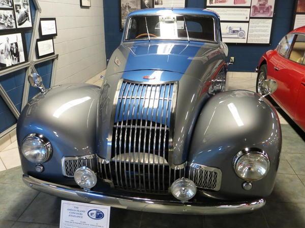 Tampa Bay Automobile Museum 2013 180 UK 1949 Allard P1