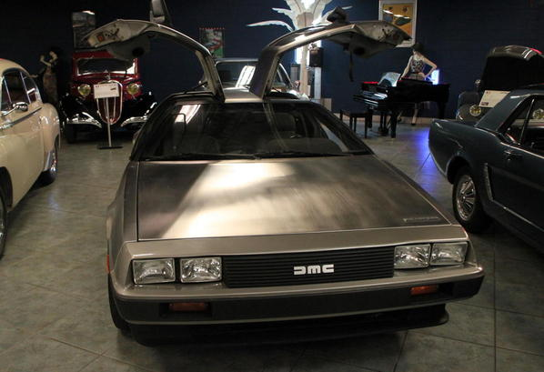 Tampa Bay Automobile Museum 2013 200 Northern Ireland 1981 DeLorean