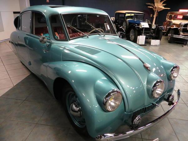 Tampa Bay Automobile Museum 2013 020 1934 Tatra T87