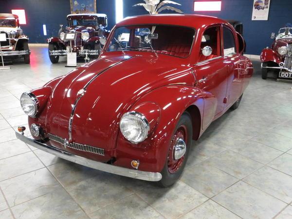 Tampa Bay Automobile Museum 2013 042 1938 Tatra T97