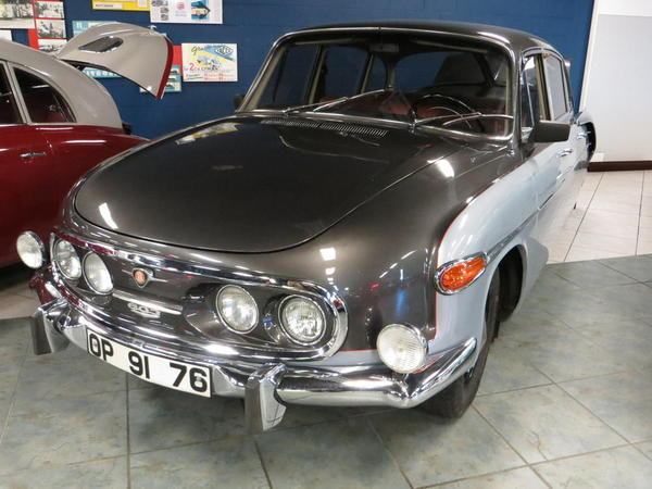 Tampa Bay Automobile Museum 2013 053 1967 Tatra 603