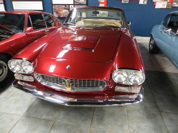 Tampa Bay Automobile Museum 2013 059 1967 Masareti Sebring Series II