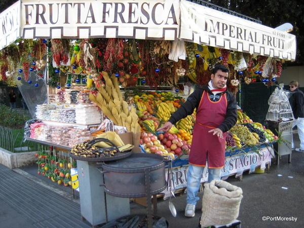 Frutta Fresca Stand, Rome.
