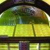 "Sun Studio gift shop Wurlitzer jukebox: Contains an original Elvis Sun label 45 (""Mystery Train"") in its stack"