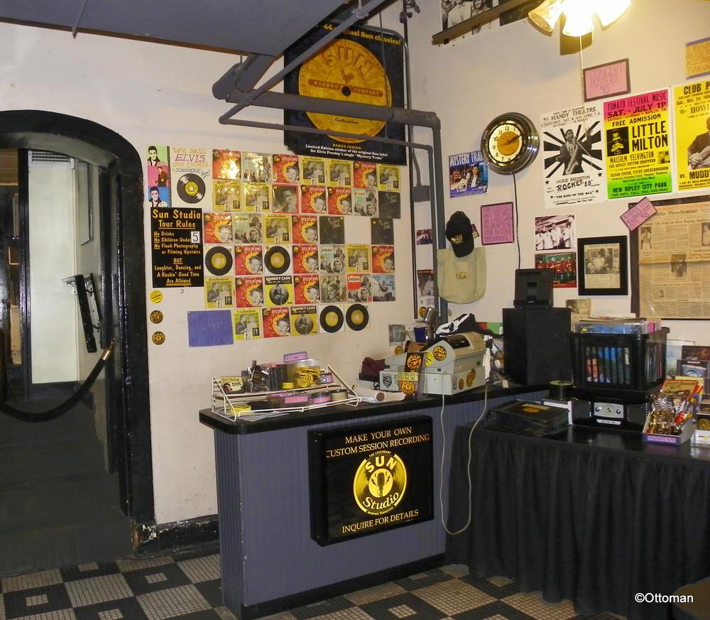 Sun Studio, Memphis, Tennessee: The house Sam Phillips built ...