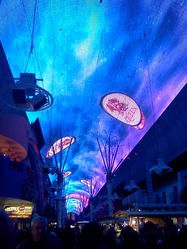 Freemont Street Experience Light Show, downtown Las Vegas