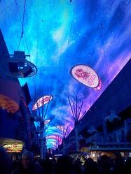 Freemont Street Experience Light Show, downtown Las Vegas