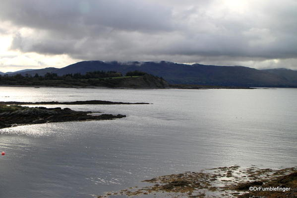 View of Beara Peninsula and Kenmare Bay from Parknasilla Resort