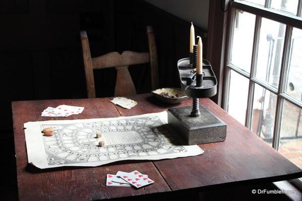 Artifacts in Michie Tavern, Charlottesville, VA